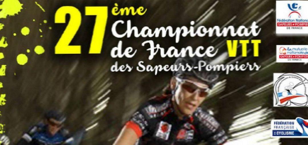 01- 27ème Championnat de France VTT Sapeurs-Pompiers