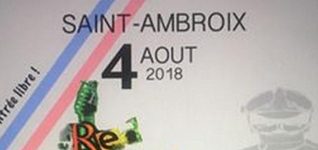 Bal des Sapeurs-Pompiers de Saint Ambroix